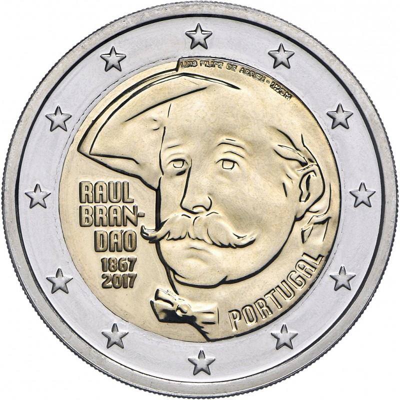 Portugal 2017 - 2 euro 150th birth of Raul Brandao