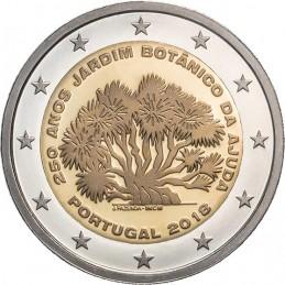 Portugal 2018 - 2 euros 250e anniversaire du Jardin botanique d'Ajuda