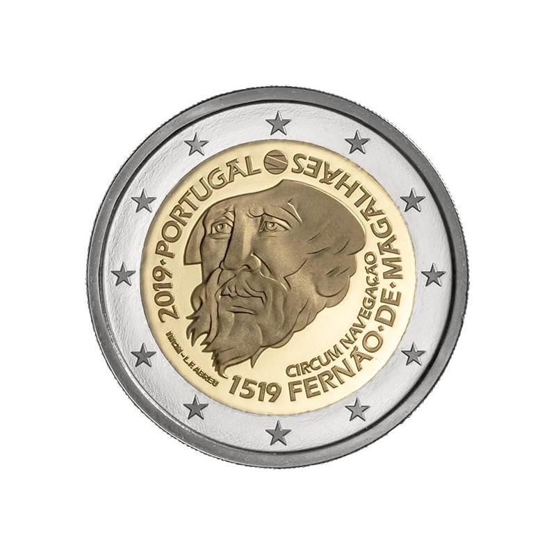 Portogallo 2019 - 2 euro commemorativo 500° anniversario della circumnavigazione di Magellano.
