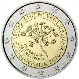 Slovenia 2010 - 2 euro commemorativo 200° anniversario dell'Orto botanico di Lubiana.
