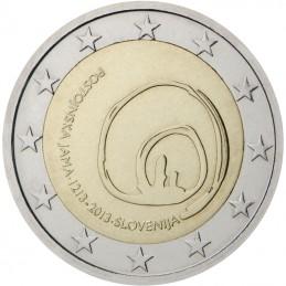 Slovenia 2013 - 2 euro commemorativo 800° anniversario della scoperta delle Grotte di Postumia.