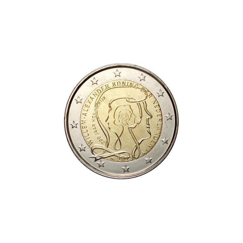 Olanda 2013 - 2 euro commemorativo 200° anniversario del Regno dei Paesi Bassi.