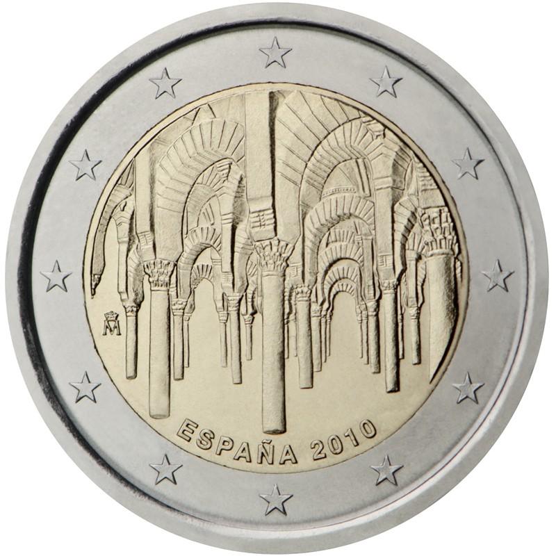 Spagna 2010 - 2 euro commemorativo 1° moneta della serie dedicata ai siti UNESCO spagnoli.
