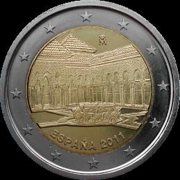 Spagna 2011 - 2 euro commemorativo 2° moneta della serie dedicata ai siti UNESCO spagnoli.