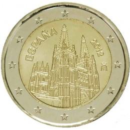 Espagne 2012 - Pièce commémorative de 2 euros 3ème de la série consacrée aux sites espagnols de l'UNESCO.