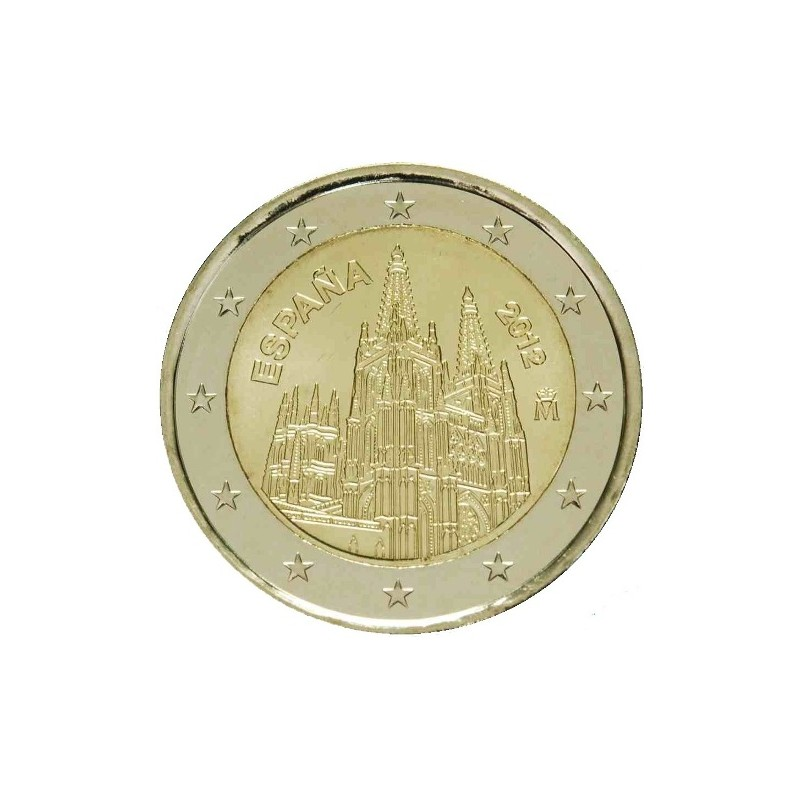 Spain 2012 - 2 euro commemorative coin 3rd in the series dedicated to the Spanish UNESCO sites.