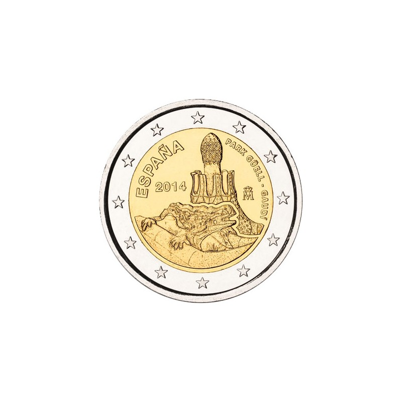 Spagna 2014 - 2 euro commemorativo 5° moneta della serie dedicata ai siti UNESCO spagnoli.