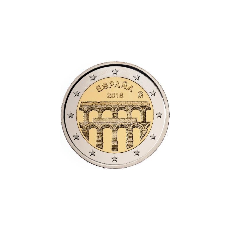 Spagna 2016 - 2 euro commemorativo 7° moneta della serie dedicata ai siti UNESCO spagnoli.