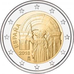Spagna 2018 - 2 euro commemorativo 9° moneta della serie dedicata ai siti UNESCO spagnoli.