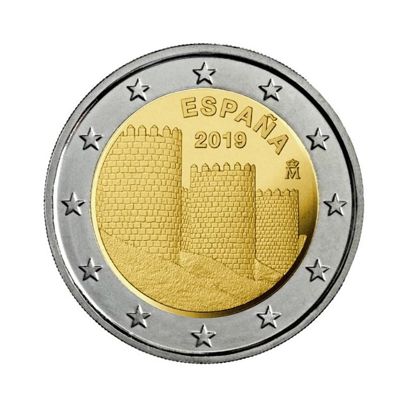 Spagna 2019 - 2 euro commemorativo 10° moneta della serie dedicata ai siti UNESCO spagnoli.