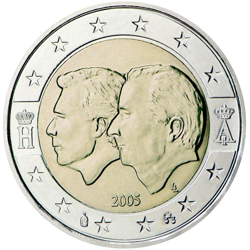 Belgio 2005 - 2 euro commemorativo Unione economica Belgio - Lusemburgo