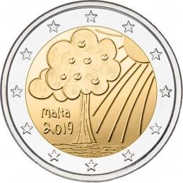 Malta 2019 - 2 euro commemorativo 4° moneta della serie 'Dai Bambini con Solidarietà'