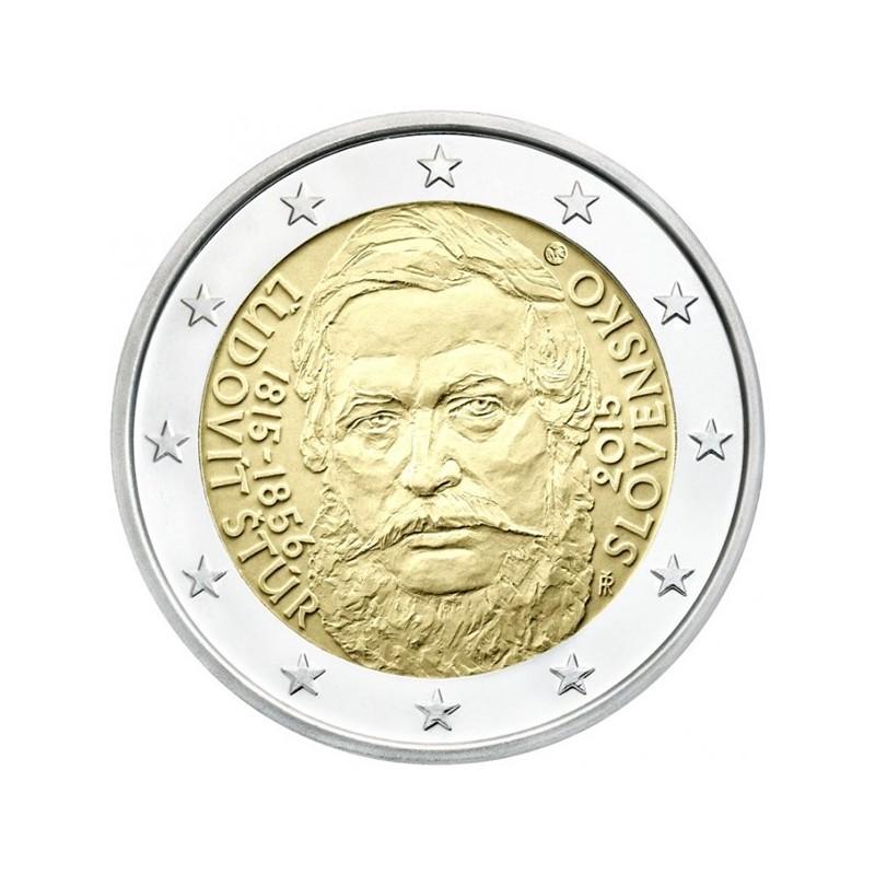 Slovacchia 2015 - 2 euro commemorativo 200° anniversario della nascita di Ludovit Stur