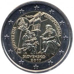 Slovacchia 2017 - 2 euro commemorativo 550° anniversario dell'Accademia Istropolitana.