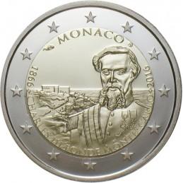 Monaco 2016 - 2 euro commemorativo 150° anniversario della fondazione di Monte Carlo da parte di Carlo III.