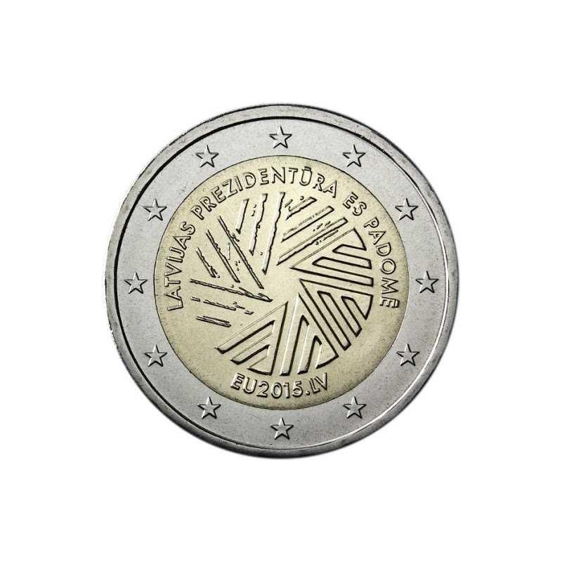 Latvia 2015 - 2 euro Presidency of the European Union