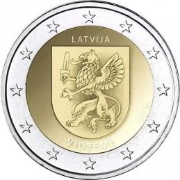 Lettonia 2016 - 2 euro commemorativo 1° moneta della serie dedicata alle Regioni della Lettonia.