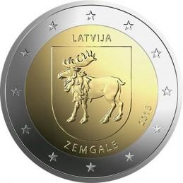 Lettonia 2018 - 2 euro commemorativo 4° moneta della serie dedicata alle Regioni della Lettonia.