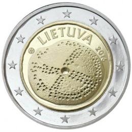 Lituania 2016 - 2 euro commemorativo cultura baltica.