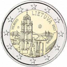 Lituania 2017 - 2 euro commemorativo Vilnius capitale della cultura e dell'arte.