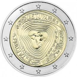 Lituania 2019 - 2 euro commemorativo canzoni popolari lituane.