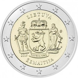 Lituania 2019 - 2 euro commemorativo regioni etnografiche della Lituania.