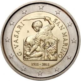 San Marino 2011 - 2 euro commemorativo 500° anniversario della nascita di Giorgio Vasari.