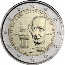 San Marino 2014 - 2 euro commemorativo 500° anniversario della morte di Donato Bramante