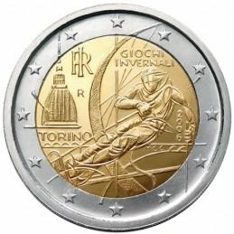 Italia 2006 - 2 euro commemorativo XX giochi olimpici invernali di Torino 2006