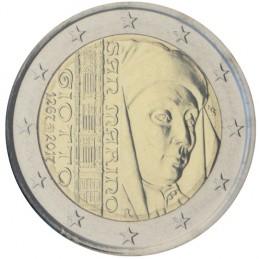 San Marino 2017 - 2 euro commemorativo 750° anniversario della nascita di Giotto di Bondone