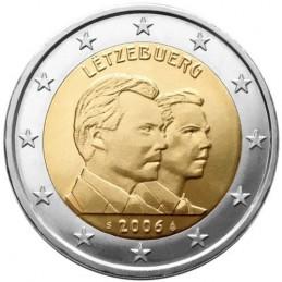 Lussemburgo 2006 - 2 euro commemorativo 25° compleanno del Principe ereditario Guglielmo