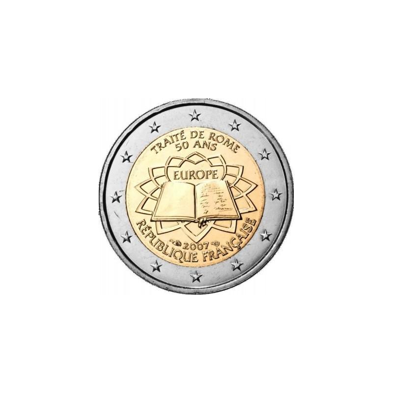 Francia 2007 - 2 euro commemorativo 50° anniversario della firma del Trattato di Roma.