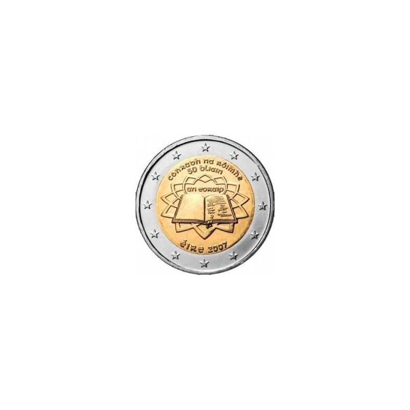 Irlanda 2007 - 2 euro commemorativo 50° anniversario della firma del Trattato di Roma