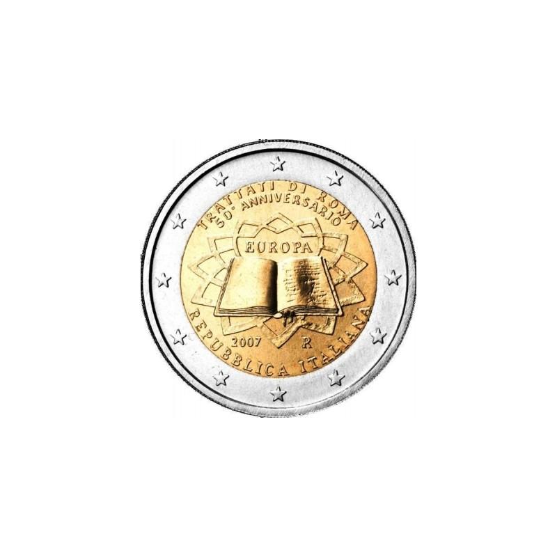 Italia 2007 - 2 euro commemorativo 50° anniversario della firma del Trattato di Roma