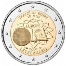 Lussemburgo 2007 - 2 euro commemorativo 50° anniversario della firma del Trattato di Roma