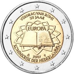 Slovenia 2007 - 2 euro commemorativo 50° anniversario della firma del Trattato di Roma