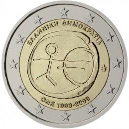 Grecia 2009 - 2 euro commemorativo 10° anniversario dell'Unione Economica e Monetaria