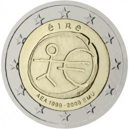 Irlanda 2009 - 2 euro commemorativo 10° anniversario dell'Unione Economica e Monetaria