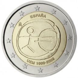 Spagna 2009 - 2 euro commemorativo 10° anniversario dell'Unione Economica e Monetaria