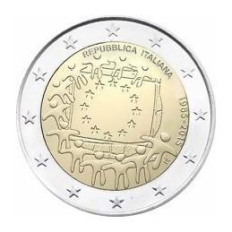 Italia 2015 - 2 euro commemorativo 30° anniversario della Bandiera Europea.