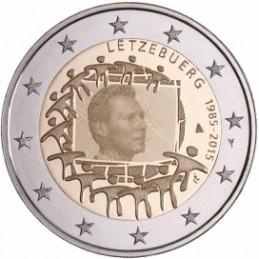 Lussemburgo 2015 - 2 euro commemorativo 30° anniversario della Bandiera Europea