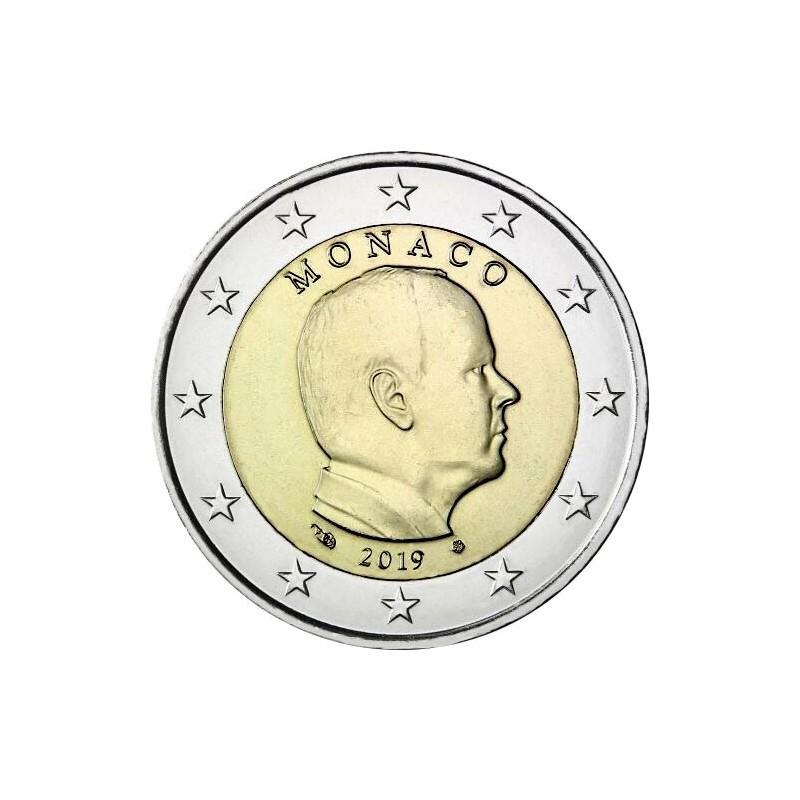 Monaco 2019 - 2 euro emesso per la circolazione