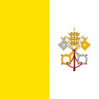 Monete euro emesse dal Vaticano.