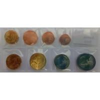 Serie complete di euro monete emesse dall'Austria.