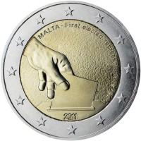 2 euro commemorativi singoli, dal 2009 ad oggi di Malta