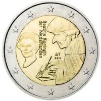 2 euro commemorativi singoli, dal 2007 ad oggi dell'Olanda